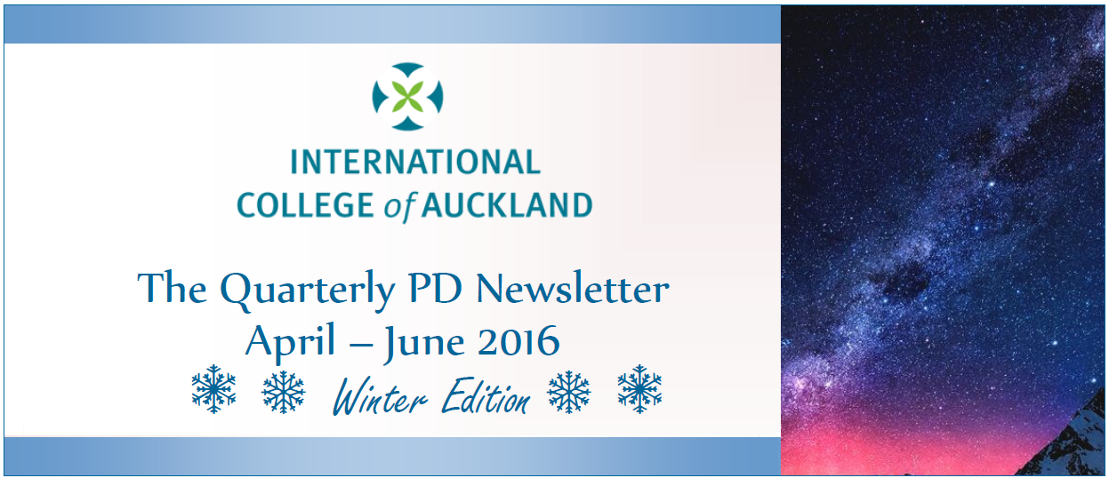 PD Newsletter Winter Edition 2016